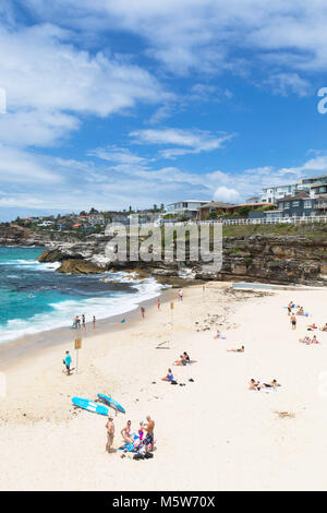 Tamarama Beach, Sydney, New South Wales, Australia - Stock Photo