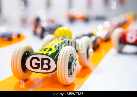 Frankfurt, Germany. 9th Feb, 2018. Ambiente 2018 (9th to 13th Feb, 2018), world's most important consumer goods - Stock Photo