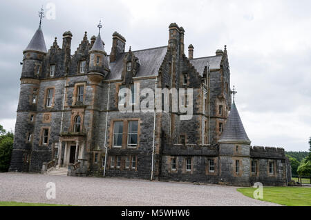 Blarney House close to  Blarney Castle near Cork in Southern Ireland - Stock Photo