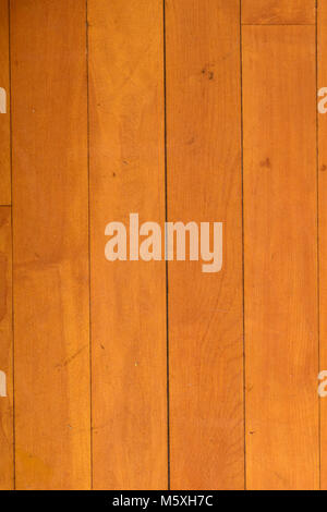 Scuffed Wooden Gym Floor With Peeling Tape Stock Photo 175802370