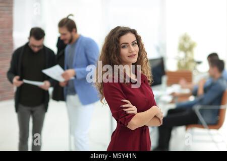 fashion designer standing in a creative Studio.p - Stock Photo