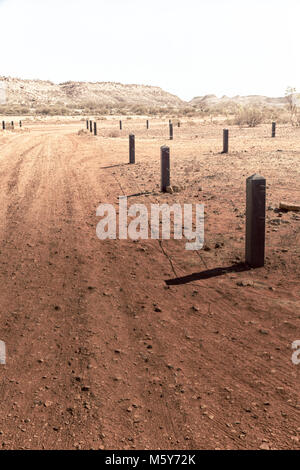 in  australia   the  meteorite fall  nature wild   and outback - Stock Photo
