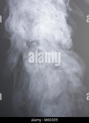 Steam rising from boiling water, London, UK - Stock Photo