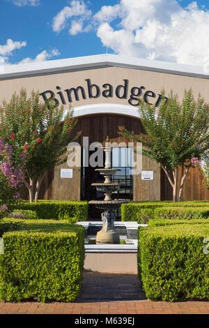 Bimbadgen Wine Estate, Hunter Valley, New South Wales, Australia - Stock Photo