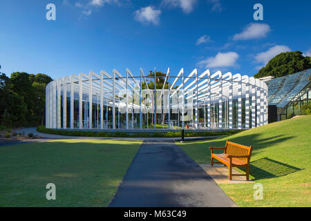 The Calyx in the Royal Botanic Gardens, Sydney, New South Wales, Australia - Stock Photo