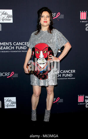 Jennifer Tilly attending 'The Women's Cancer Research Fund's an Unforgettable Evening' Benefit Gala at Beverly Wilshire - Stock Photo