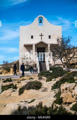 Kappella Sant' Anna, Triq id-Dwejra, San Lawrenz, Malta. Gozo island. - Stock Photo