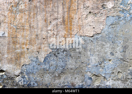 old wall, background, texture, shabby paint, old cement plaster