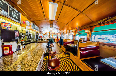 Miss Florence Diner _ Florence, Massachusetts, USA - Stock Photo
