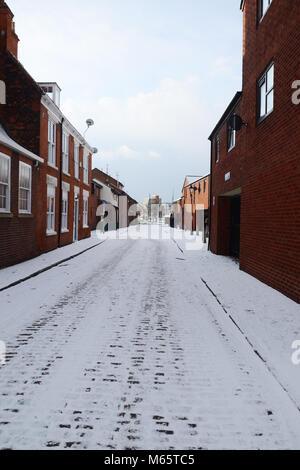 Dagger Lane,prince street, old town, kingston upon Hull, Hull, UK - Stock Photo