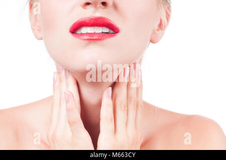 pain-throat-concept-young-woman-has-sore-throat-touching-the-neck-m663cy