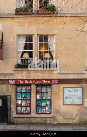 The Bath Sweet Shop Bath Avon England - Stock Photo