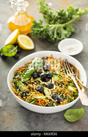 Detox superfood salad - Stock Photo