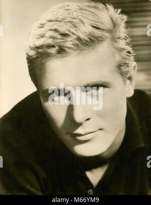 German actor Horst Janson, 1960s - Stock Photo