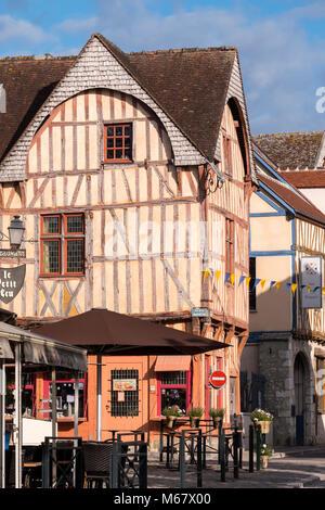 Cite Medieval Provins Seine-et-Marne Ile-de-France France - Stock Photo