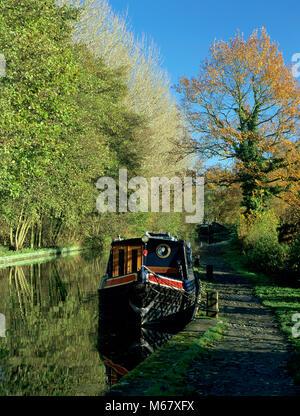 On the Stratford upon Avon Canal near Preston Bagot, Warwickshire, - Stock Photo