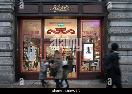 Following the news of two high street retailers going out of business, there are fears for others. A view of the - Stock Photo