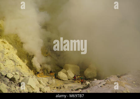 asia, Indonesia, Java, volcanoe im Bromo-Semeru Nationalpark - Stock Photo