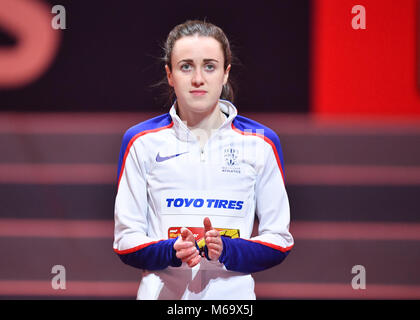 Birmingham, UK. 1st March, 2018. during IAAF World Indoor Championships at Arena Birmingham on Thursday, 01 March - Stock Photo