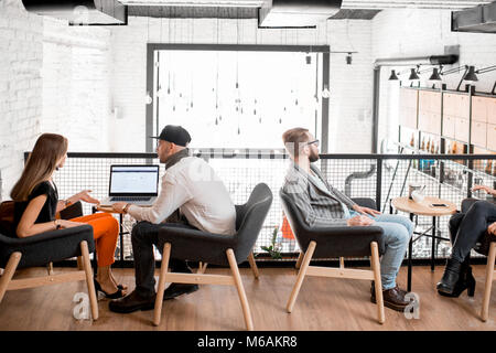 People in the cafe - Stock Photo