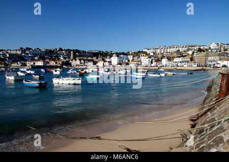 St Ives, Harbour, Cornwall - Stock Photo