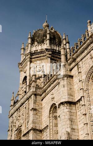 Hieronimus monastery in Belem, Lisbon, Portugal - Stock Photo