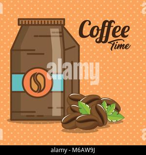 delicious coffee time elements - Stock Photo