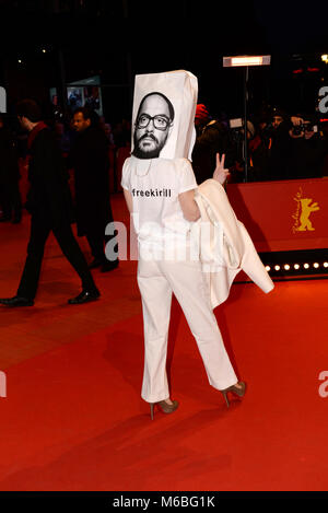 February 24th, 2018 - Berlin  Celebrities attend the closing ceremony of the Berlinale Film Festival 2018. - Stock Photo