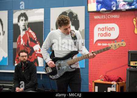 Wales v Panama, Cardiff city stadium - Stock Photo