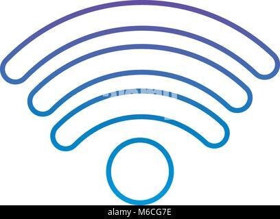 internet wifi connection symbolicon - Stock Photo
