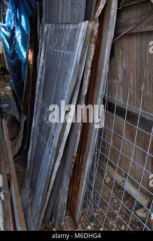 Corrugated Metal Steel Shack Shed Building Old Iron Sheet
