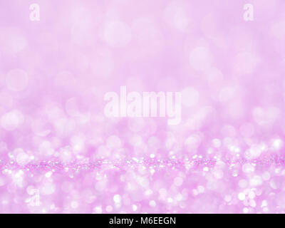Violet abstract glitter background with bokeh. lights blurry soft pink for the romance background, light bokeh holiday - Stock Photo