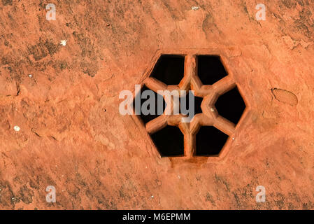 Rusty drain hole close - Stock Photo