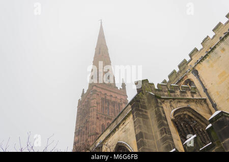 Holl Trinity Church, Broadgate, Coventry, England. - Stock Photo