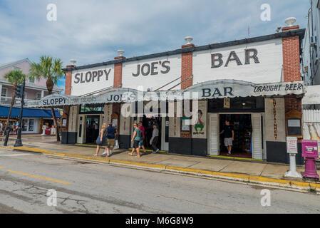 USA, Florida, Key West, solskensstaten, hamn, hamninlopp, kryssning, soluppgång, varmt, semester, jobb, Sunshine, - Stock Photo