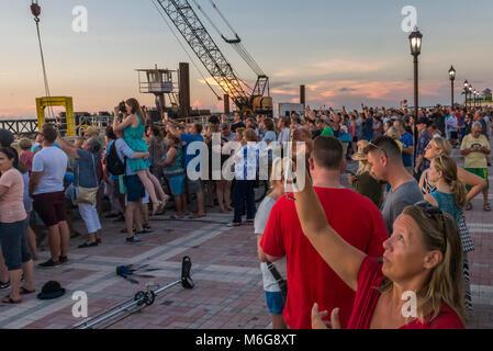 USA, Florida, Key West, solskensstaten, semester, varmt, soligt, fritid, njuta, ledighet, minnesmärken, jetski, - Stock Photo