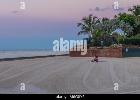 USA, Florida, Key West, solskensstaten, semester, varmt, soligt, fritid, njuta, ledighet, minnesmärken, Yoga, soluppgång, - Stock Photo