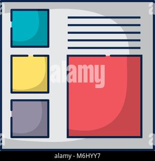 website business document strategy information - Stock Photo