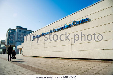 Southport Theatre & Convention Centre. The STCC is a Theatre and Conference centre for shows, trade exhibitions, - Stock Photo