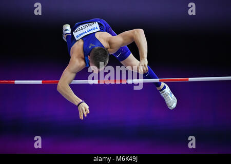 Birmingham, UK. 4th Mar, 2018. during IAAF World Indoor Championships at Arena Birmingham on Sunday, 04 March 2018. - Stock Photo
