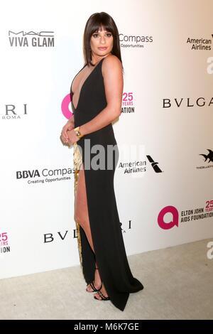 Los Angeles, CA, USA. 4th Mar, 2018. LOS ANGELES - MAR 4: IMG at the 2018 Elton John AIDS Foundation Oscar Viewing - Stock Photo