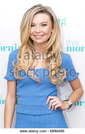 Undated ITV Handout Photo from This Morning. Pictured: Georgia Toffolo. See PA Feature SHOWBIZ TV Toffolo. Picture - Stock Photo