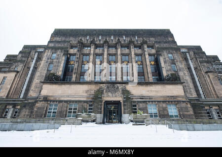 View of exterior of St Andrews House in Edinburgh, Scottish Government building, Scotland, United Kingdom - Stock Photo