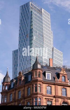 Nextower, Frankfurt, Deutschland, Europa - Stock Photo