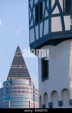 Bockenheimer Warte, Frankfurt am Main, Hessen, Deutschland, Europa - Stock Photo