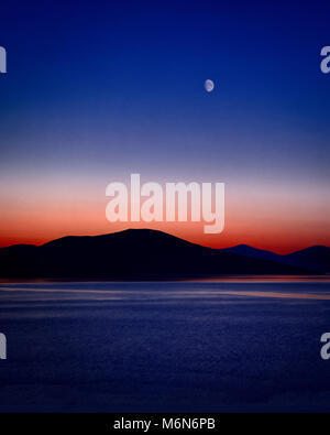 DIGITAL ART: The Bay (Sound of Taransay seen from Isle of Harris, Scotland) - Stock Photo