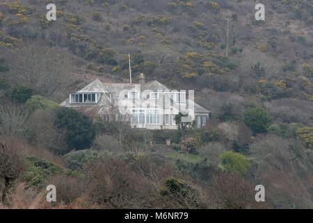 The home of signer Kate Bush in Devon - Stock Photo