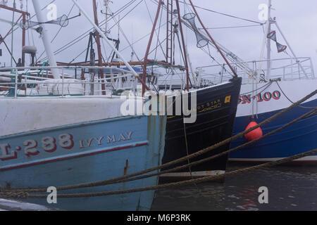North Shields fishing boats - Stock Photo