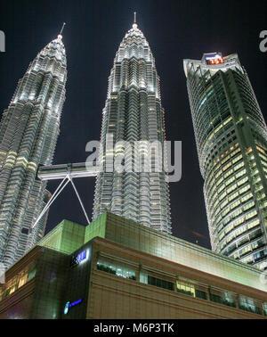 Suria Shopping Mall, Petronas Towers, Kuala Lumpur City Centre (KLCC), Kuala Lumpur, Malaysia - Stock Photo