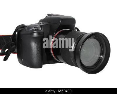 photocamera isolated on a white background - Stock Photo